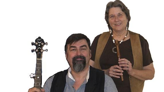 Glastonbury Duo (Dave & Carol Sharp)
