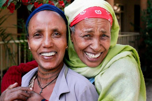 Ladies from Ethiopia