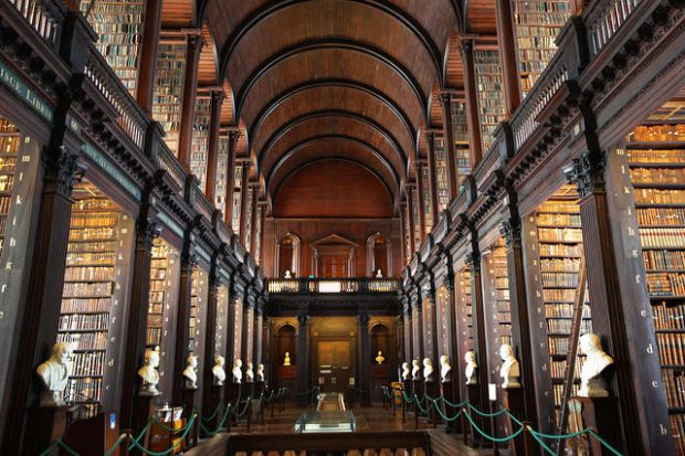 Library, Trinity College, Dublin, Ireland--Steve Evans picture