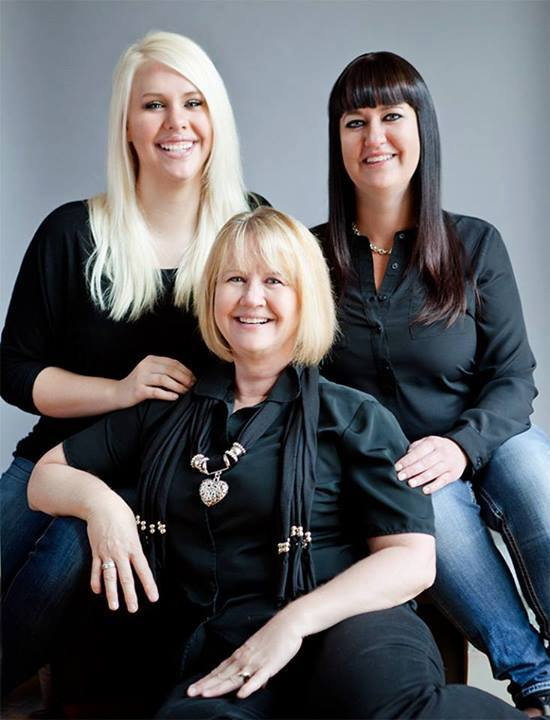Collette Justesen and Daughters