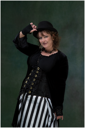 Julie Barnson in Steampunk