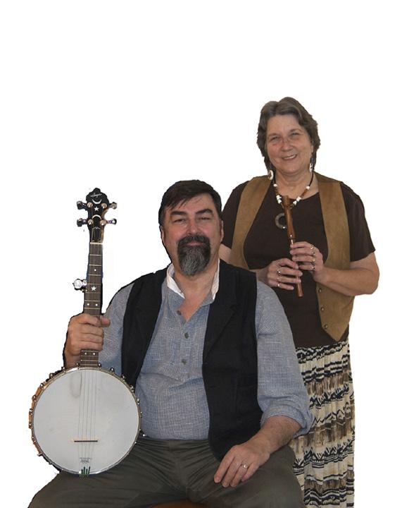 Glastonbury Duo (Dave & Carol Sharp) (1)