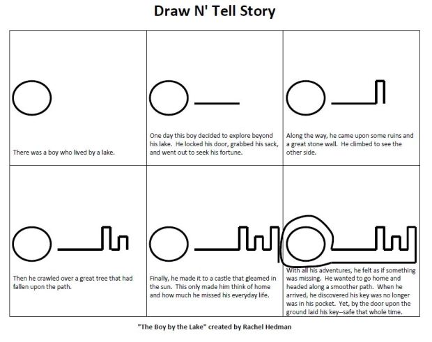 Draw N' Tell Story--The Boy by the Lake