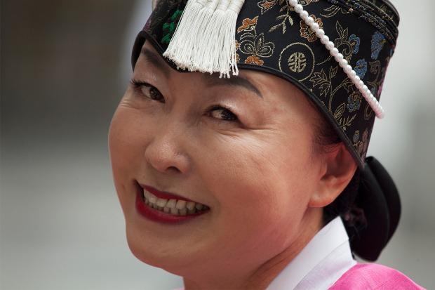 Lady from South Korea--Steve Evans