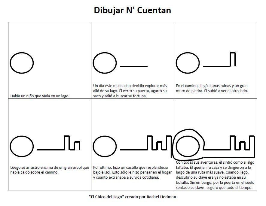 Spanish--Draw N' Tell