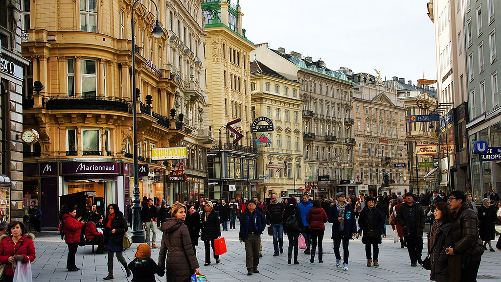Vienna--many people--Steve Evans
