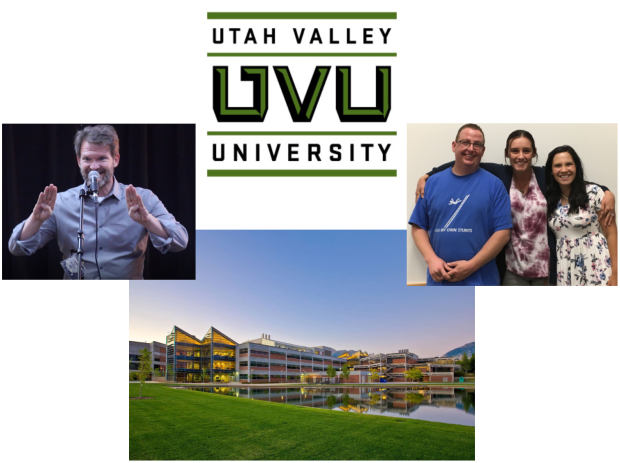 Utah Valley University - Dr. Dale Boam and students - image