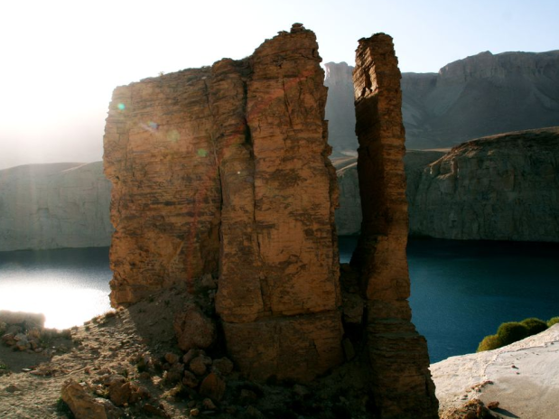 Afghanistan - Band-e-Amir Lake -- pic by Muzafar Ali