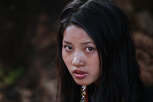 Chinese girl - by Steve Evans