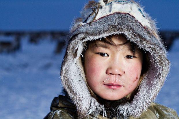 Inuit boy by Sasha