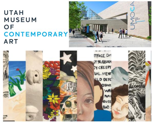 Utah Museum of Contemporary Art collage