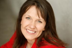 Nannette Watts in red--horizontal