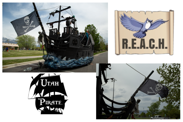 REACH Utah - Utah Pirate collage