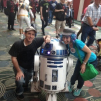 Date with Husband (with R2-D2 tagging along) at FanX