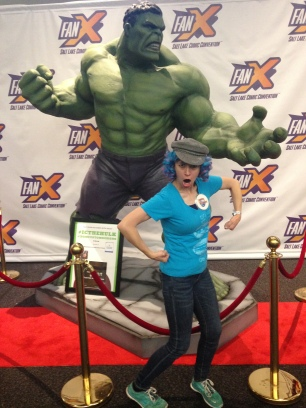Rachel meets the Hulk
