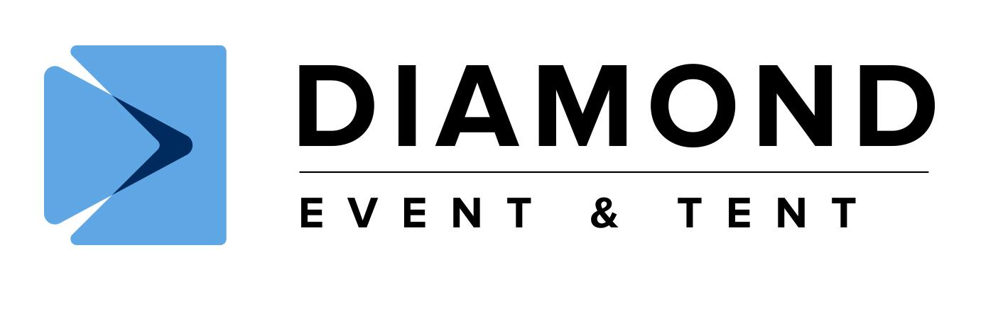 Diamond Event & Tent Original Horizontal Logo - Color RGB