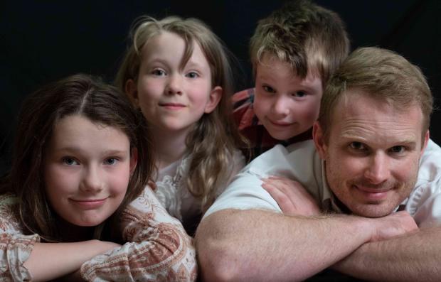 The Gashler Family-Stephen, Ariah, Aspen, Percy